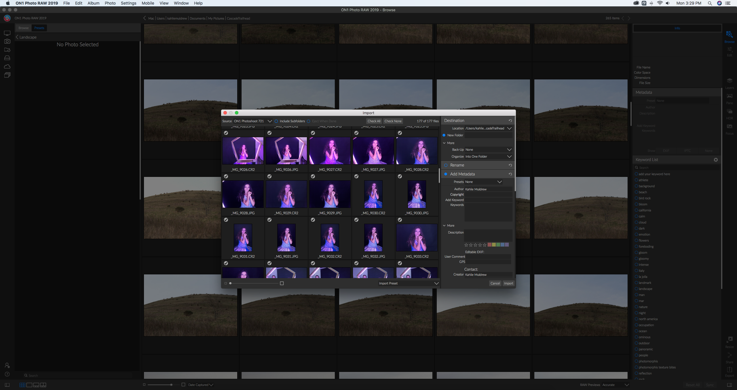 Importing Photos into Browse – ON1 Photo RAW 2019 – ON1 Support
