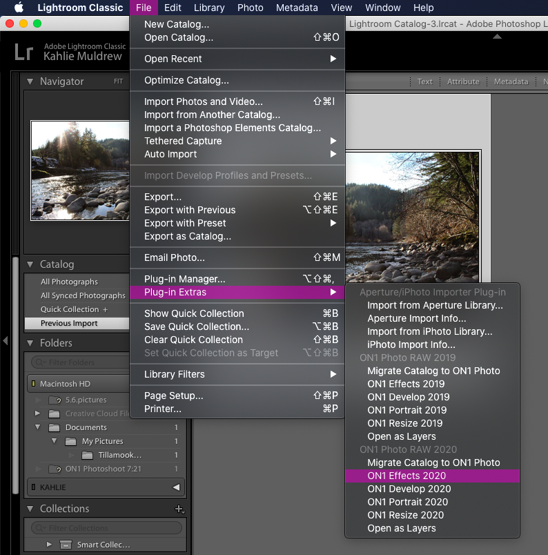 How To Easily Create and Save Lightroom Presets | 804x794