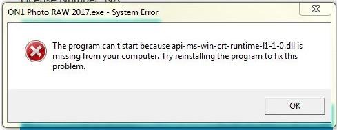 microsoft c++ redistributable windows 7